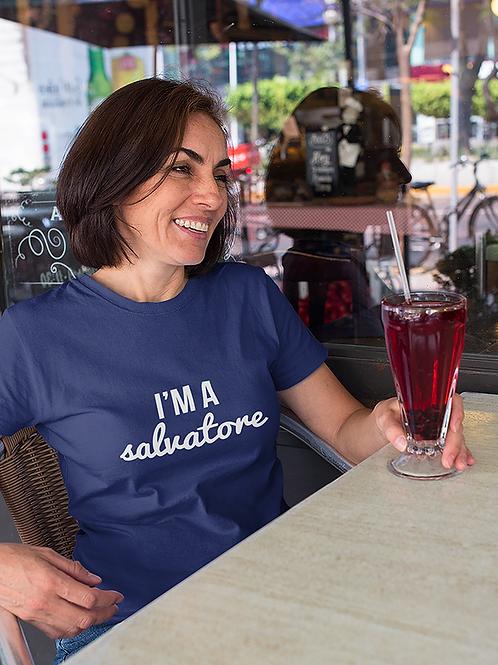 T-shirt I'm a Salvatore   The Vampire Diaries