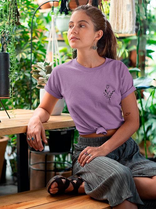 T-shirt Anaëlle | floral graphique