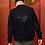 Thumbnail: Veste en jeans brodée Comantem pour homme