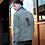 Thumbnail: Veste en jeans brodée Mirum rosea pour homme
