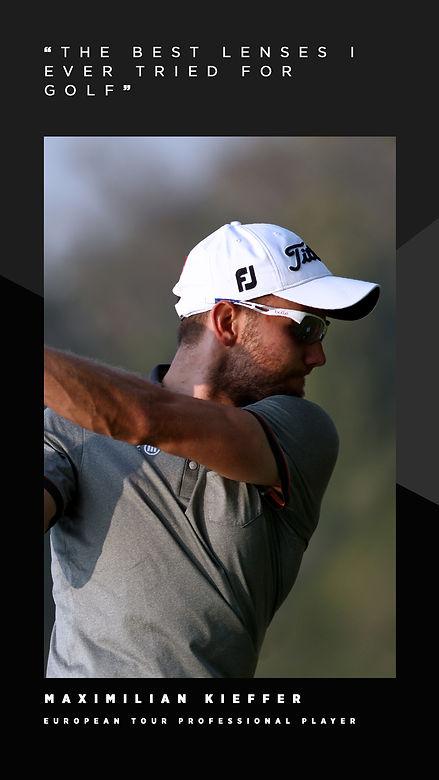 Bolle sunglasses Phantom Golf lenses