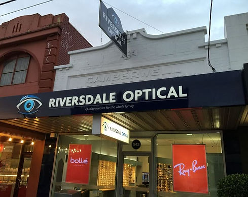 Riversdale Optical store front