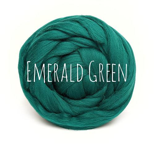 Super Chunky Wool - Emerald Green