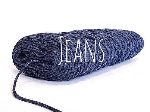 Cotton yarn - Dark Jeans 3mm for Macrame / Crochet / Knitting