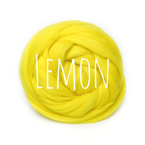 Super Chunky Wool - Lemon