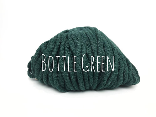 Premium Chunky Cotton yarn - Bottle Green 5mm