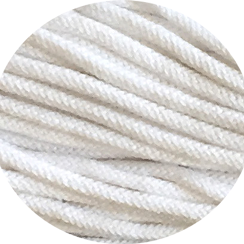 Premium Chunky Cotton yarn - White 5mm