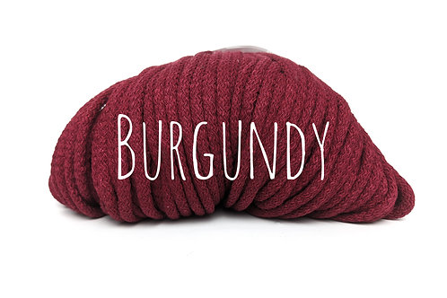 Premium Chunky Cotton yarn - Burgundy 5mm