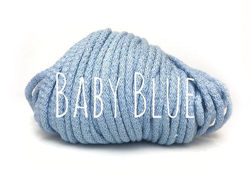 Premium Chunky Cotton yarn - Baby Blue 5mm