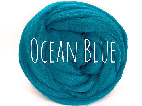 Super Chunky Wool - Ocean Blue