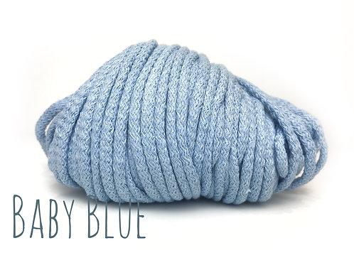 Chunky Cotton yarn - Baby Blue 5mm