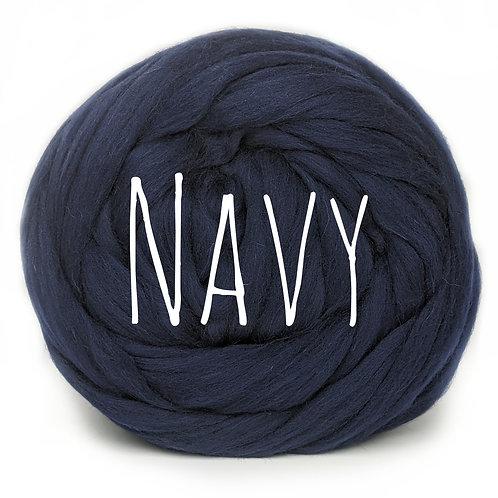 Super Chunky Wool - Navy