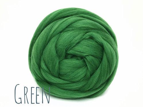Super Chunky Wool - Green