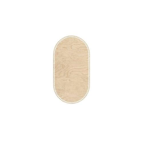 Big Wooden Base for Moses Basket - 65x35cm