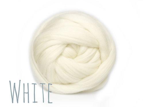 Super Chunky Wool - White