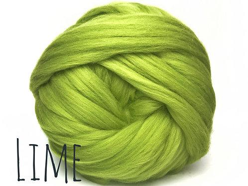 Super Chunky Wool - Lime Green