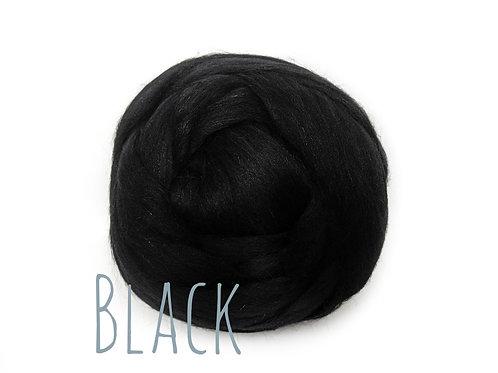Super Chunky Wool - Black