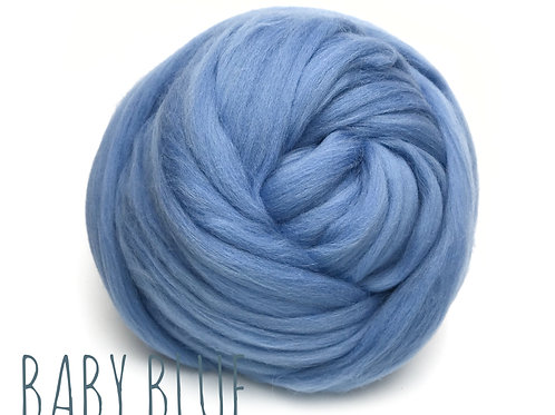 Super Chunky Wool - Baby Blue