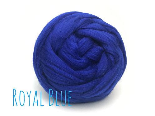 Super Chunky Wool - Royal Blue