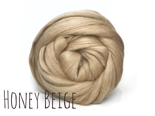 Super Chunky Wool - Honey Beige