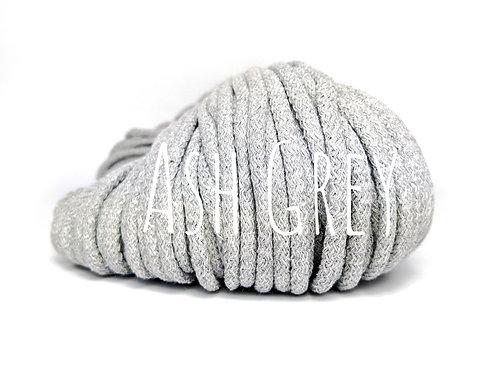 Chunky Cotton yarn - Ash Grey 5mm