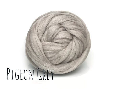 Super Chunky Wool - Pigeon Grey