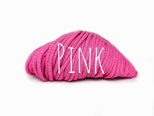 Chunky Cotton yarn - Pink 5mm