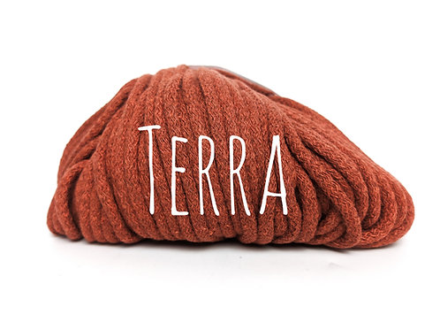 Chunky Cotton yarn - Terra 5mm
