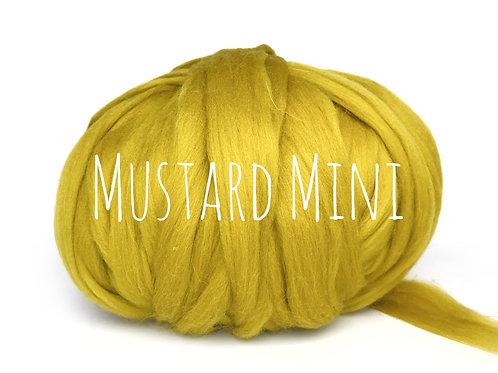 Mini Chunky Wool - Mustard