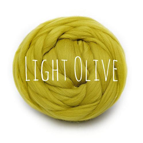 Super Chunky Wool - Light Olive