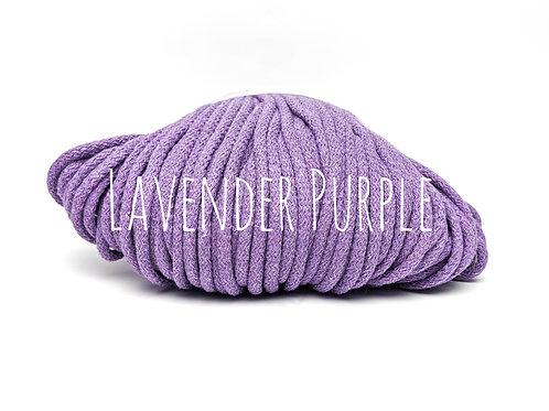 Chunky Cotton Yarn - Lavender Purple 5mm