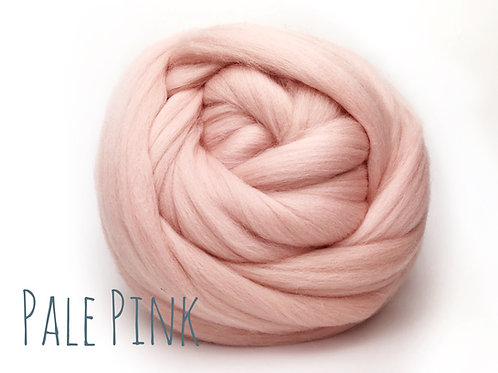 Super Chunky Wool - Pale Pink