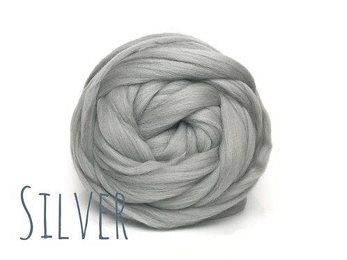 MINI Chunky Wool - Silver