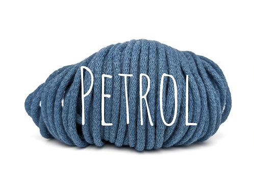 Premium Chunky Cotton yarn - Petrol 5mm