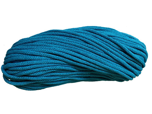 Chunky Cotton yarn - Blue 5mm
