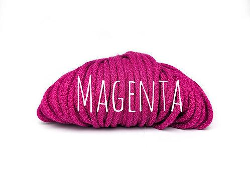 Chunky Cotton yarn - Magenta 5mm