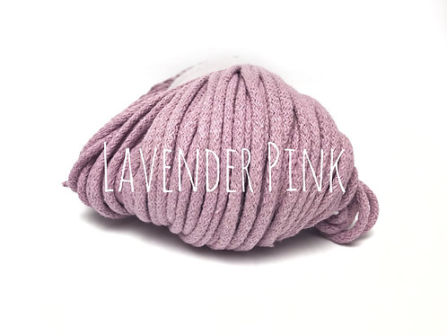 Premium Chunky Cotton yarn - Lavender Pink 5mm