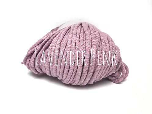 Chunky Cotton yarn - Lavender Pink 5mm