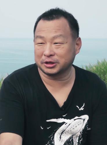 鯨豚的照相師 攝影師 金磊