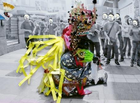 邱國峻結合攝影及刺繡文化 突破攝影框架 顛覆台灣信仰迷思