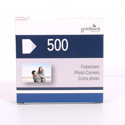 Goldbuch Fotohoekjes 500 stuks