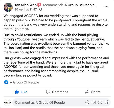 AGOPSG REVIEW LIVESTREAM
