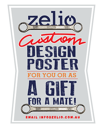GIFT IDEA: CUSTOM DESIGNED POSTER FOR YOU from
