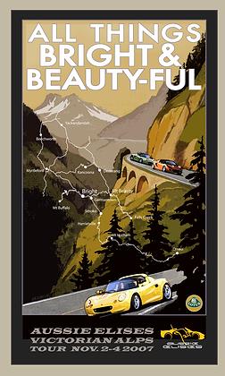 Aussie Elises 07 Alps Poster