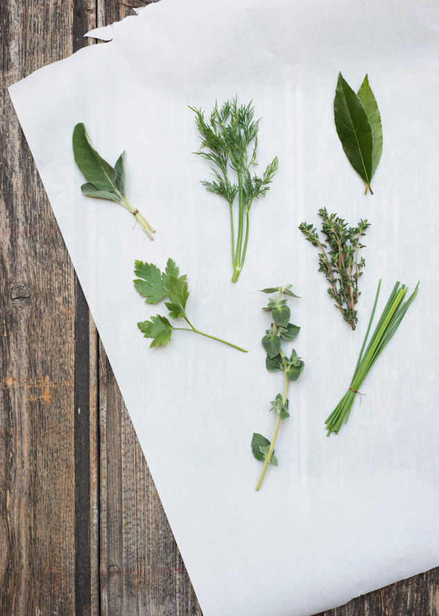 Herb still life