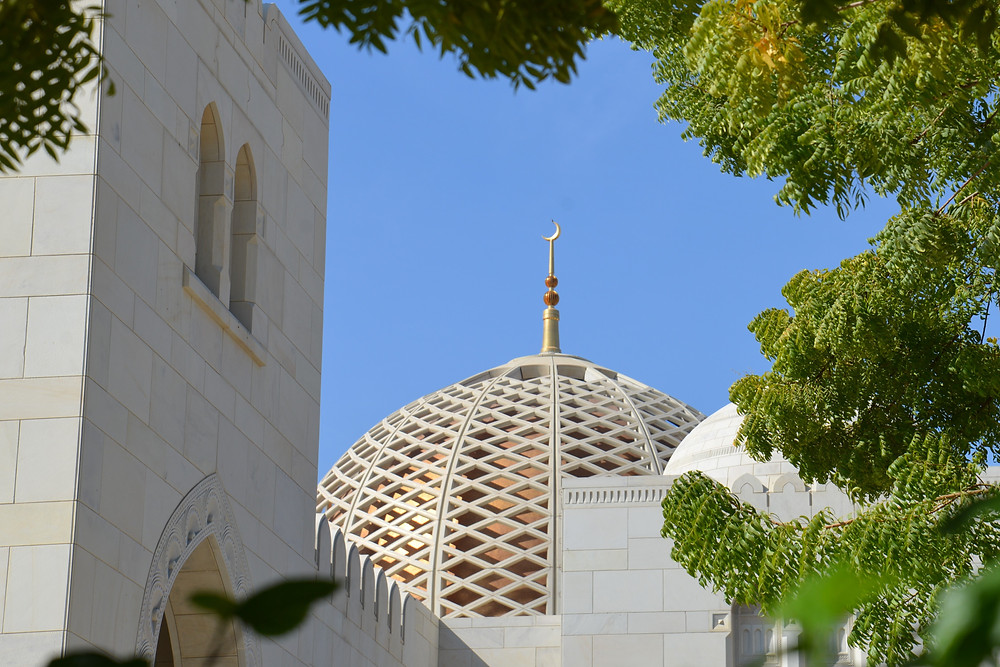 photo of a mosque in Muscat Oman