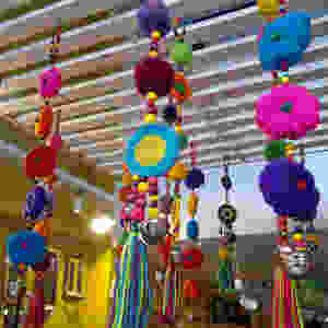 Photo of decorative items in shop