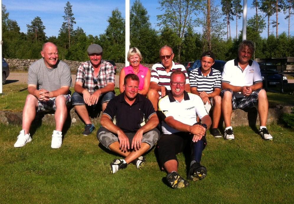 Vinnare sommargolf på Reftele golf