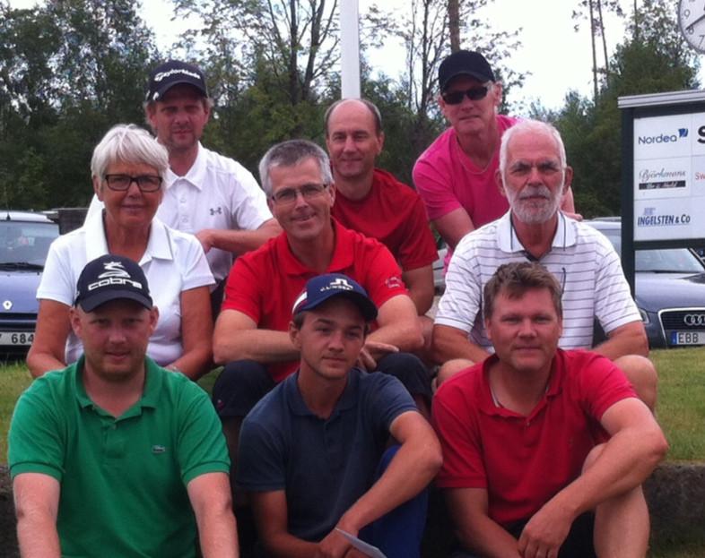 Klubbmästarskapet 2014 på Källebackens golfbana