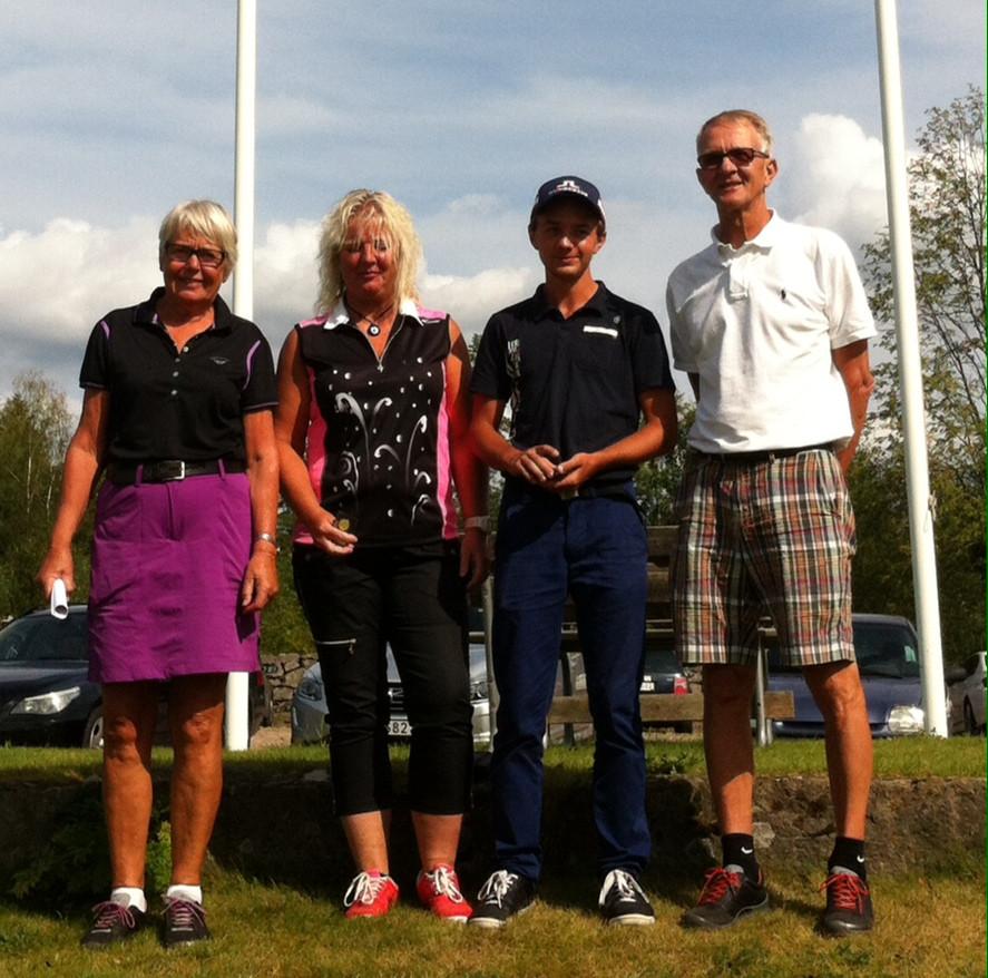 Klubbmästare 2014 på Reftele golfklubb